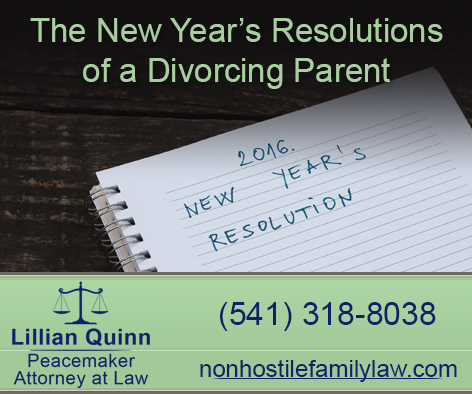 Family Law 2016 New Year's Resolution